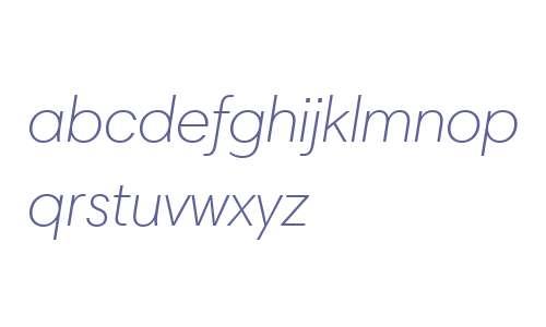 Harmonia Sans W06 Light Italic