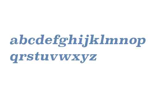 Superclarendon Rg Bold Italic V2