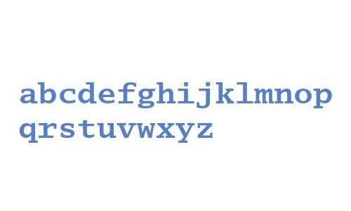 Lucida Typewriter Bold