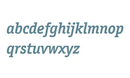 ITC Officina Serif W04 Bd Ital