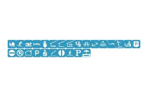 PIXymbolsTravelBlack Italic