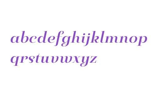 Pauline Didone W01 Bold Italic