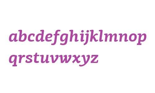 PF Centro Slab W01 Bold Italic