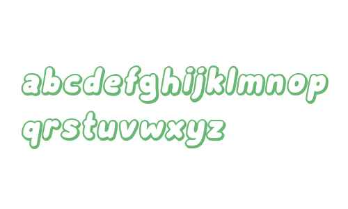 Subscribe Shadow Italic