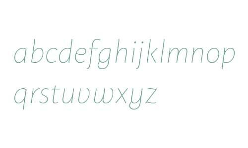 Macho Thin Italic