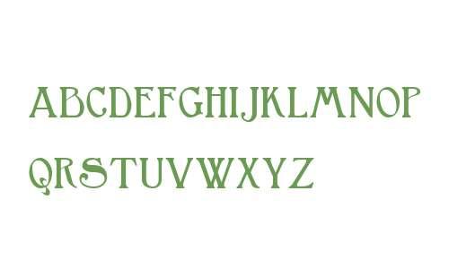 Bromwich Small Capitals W01 Rg