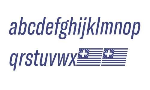 GT America Compressed Regular Italic