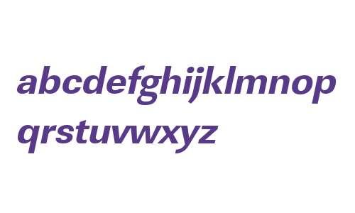 URWLinearTExtBol Oblique