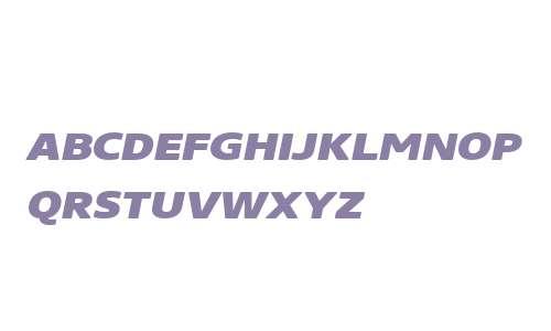 Core Sans NR W01 SC 83 XHv It