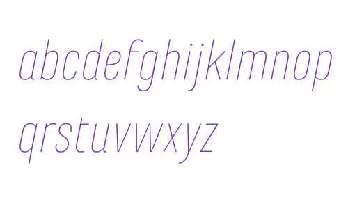 Marianina FY Thin Italic
