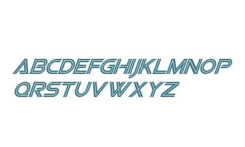 Viper Squadron Italic