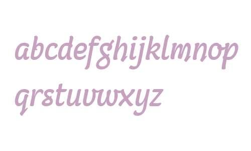 Coomeec W04 Italic