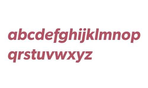 Gibson W04 Semibold Italic