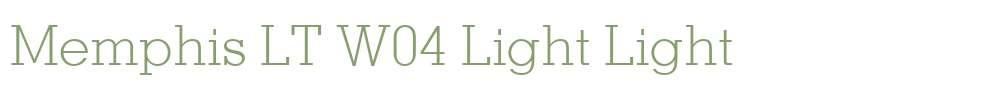 Memphis LT W04 Light