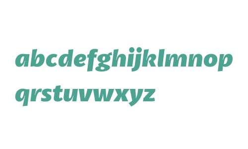Petala W03 ExtraBold Italic
