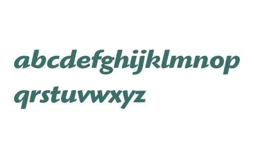 Highlander ITC Bold Italic OS