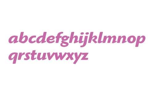 Highlander ITC Std Bold Italic
