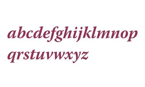 Warnock Pro Bold Italic
