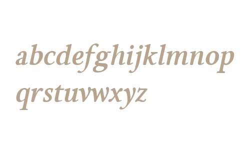 Brigade W00 Bold Italic