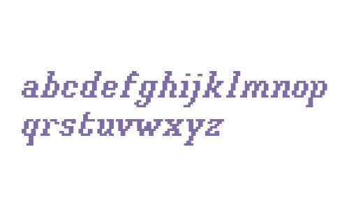 Xilla Bold Italic