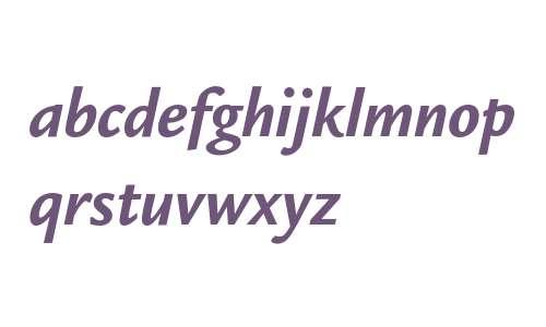 Legacy Sans ITC Bold Italic