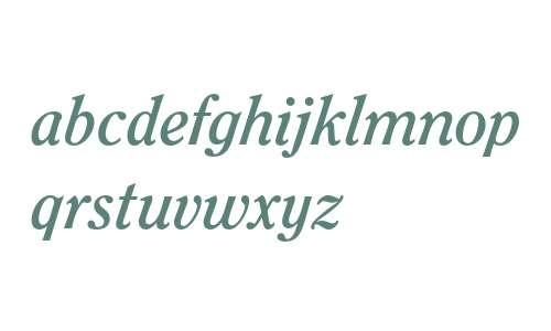 ITC Clearface LT Bold Italic