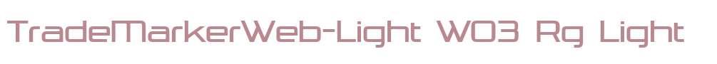 TradeMarkerWeb-Light W03 Rg
