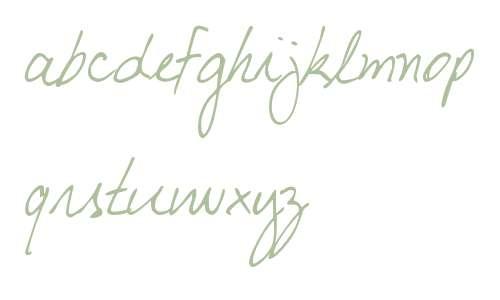 DJB My Boyfriend's Handwriting