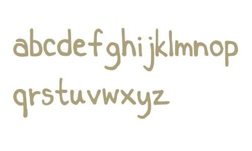 Key's comic font 1