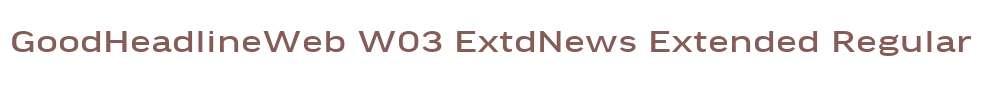 GoodHeadlineWeb W03 ExtdNews