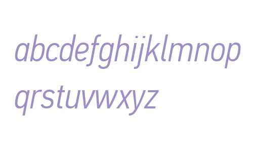 PFDinTextCondPro-LightItalic