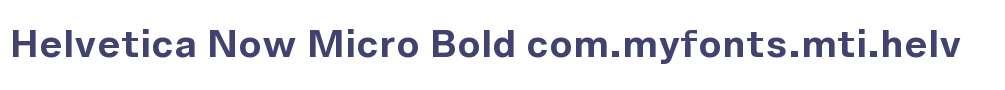 Helvetica Now Micro Bold