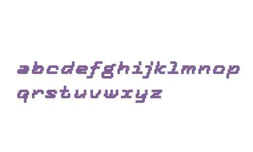 Tronic OT W03 Bold Italic