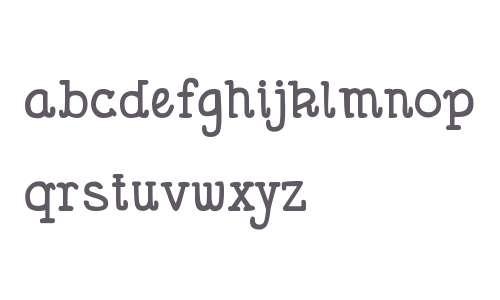 DJB Holly Serif Bold