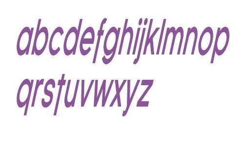 SF Florencesans Comp Bold Italic
