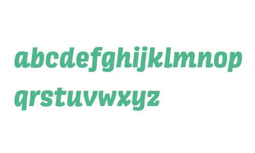 Scarlet ExtraBold Italic