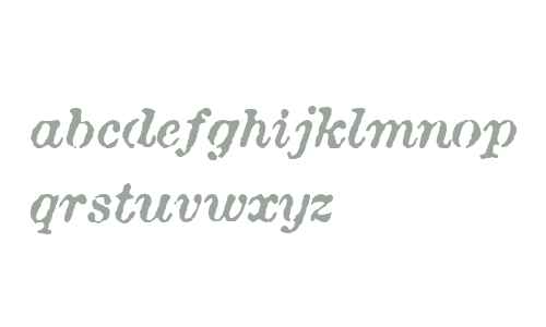 Attic Antique W04 Italic