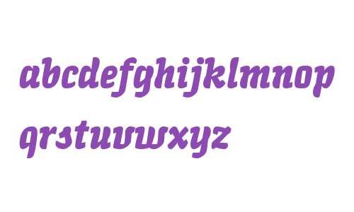 Quench LT W04 Bold Italic