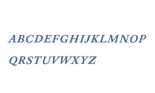 DTLElzevirTCapsMedium-Italic