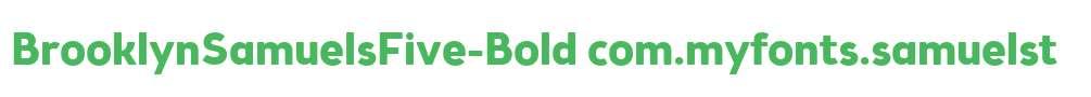 BrooklynSamuelsFive-Bold