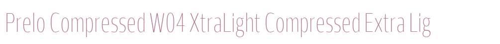 Prelo Compressed W04 XtraLight