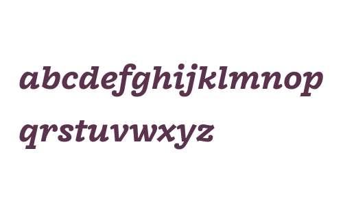 FreightMacro W03 Bold Italic