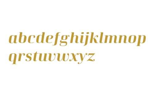 Curve W01 Bold-Italic
