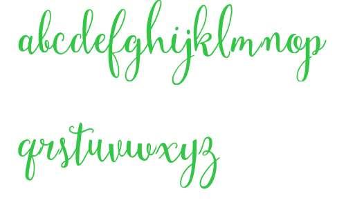 Mulberry Script W01 Bold V1