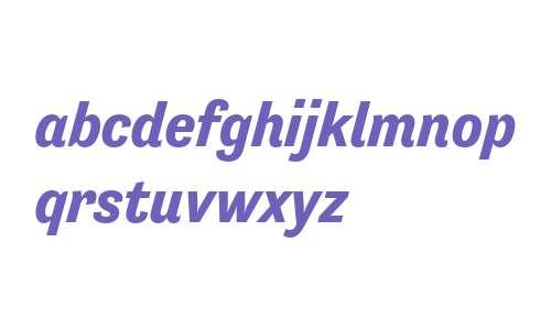 Tenso W00 Bold Italic