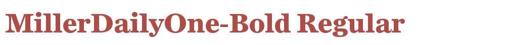 MillerDailyOne-Bold