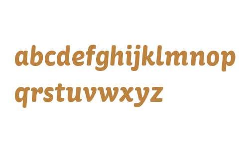 St Ryde W03 Bold Italic