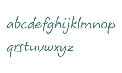 Koorkin W01 Italic