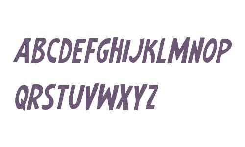 Earth's Mightiest Jumbled Italic
