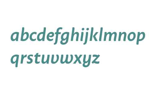 Macho SemiBold Italic